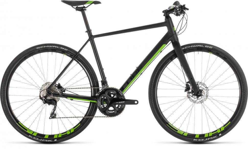 6456f310044 The Cube SL Road SL has some seriously impressive components: Shimano's  excellent Ultegra groupset and Deore hydraulic disc brakes and DT Swiss  Spline R24 ...