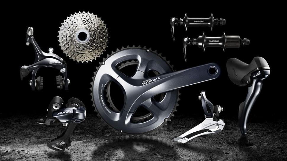 610926f0154 sora-r3000.jpg. Underneath Tiagra is Shimano's Sora groupset ...
