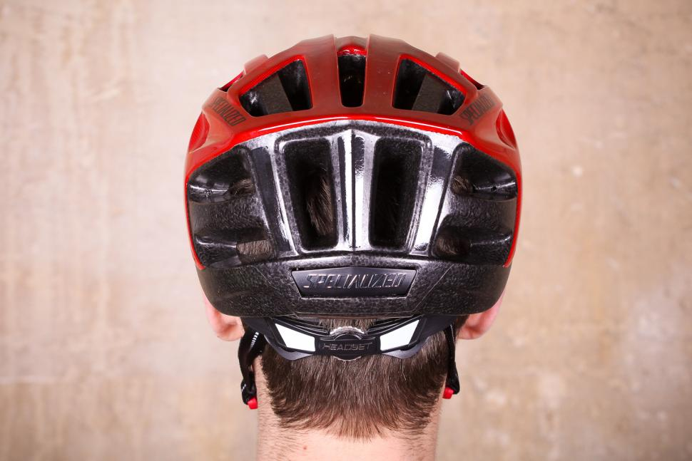 Specialized Align Helmet Gloss Red Fade - back.jpg