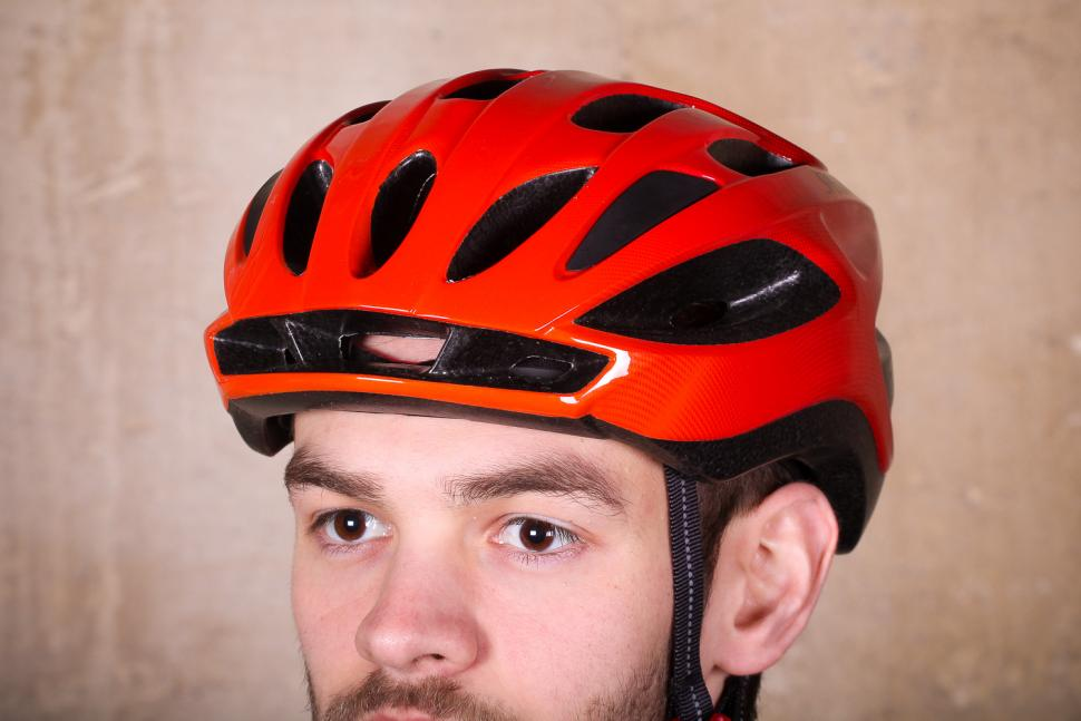 Specialized Align Helmet Gloss Red Fade - front.jpg