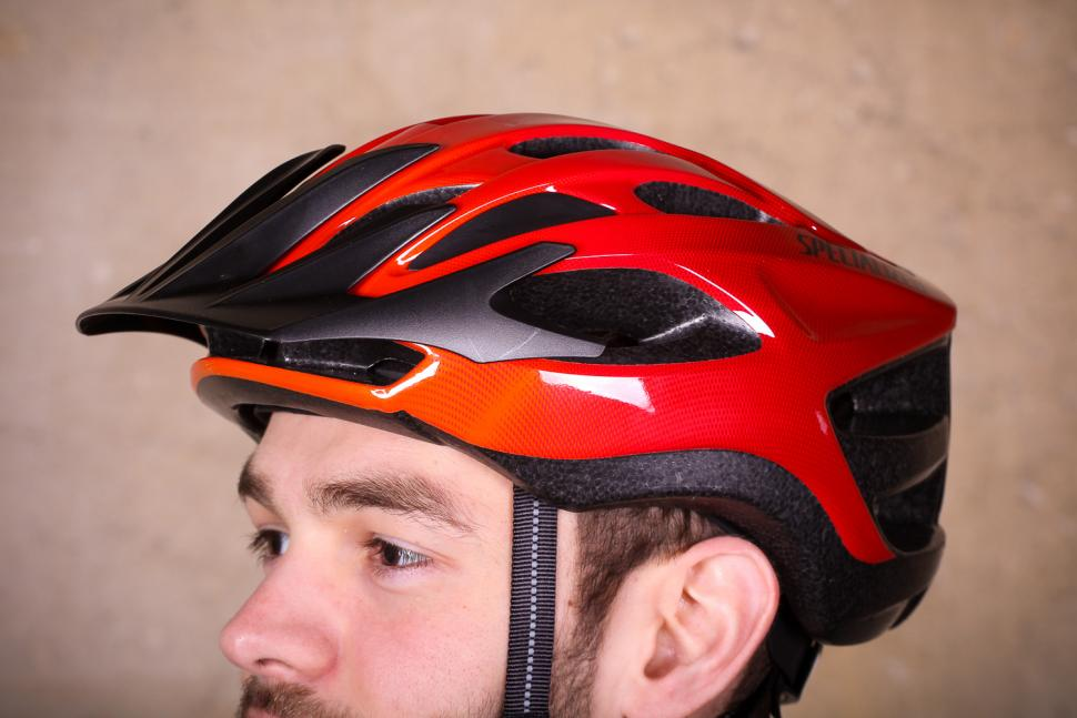 Specialized Align Helmet Gloss Red Fade - with peak.jpg