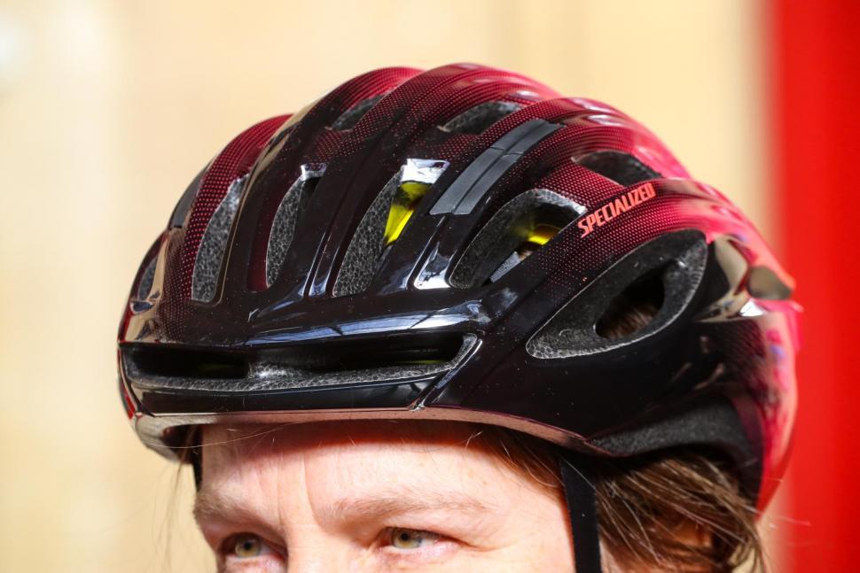 Specialized Prospero III with ANGI helmet - front.jpg