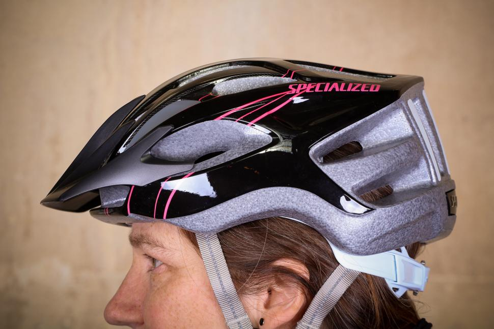 Specialized Sierra Gloss Acid Pink Arc Womens Helmet - side 2.jpg
