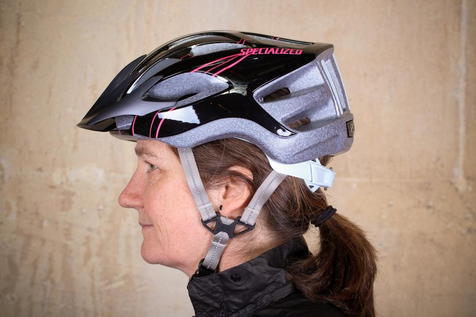 Specialized Sierra Gloss Acid Pink Arc Womens Helmet - side.jpg