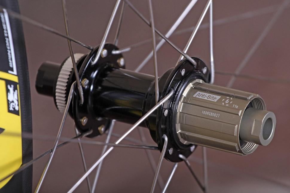 Spin Industries The Rouleur DM845 Super Fat Boys wheelset - rear hub.jpg