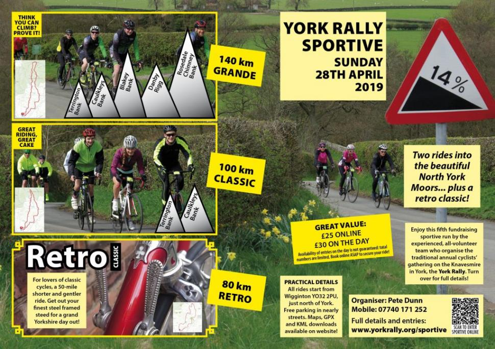York Rally Sportive & Retro 2019 poster