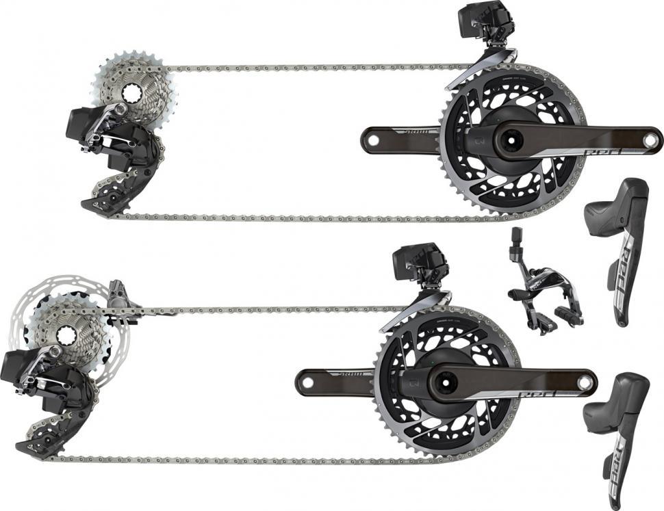 Sram Rival 22 BICYCLE BIKE Mechanical Brake Caliper Set Road Front /& Rear Black