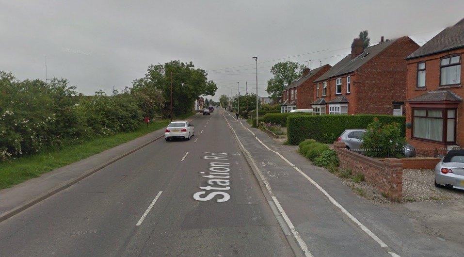 Station Road, Hykeham (via StreetView).jpg