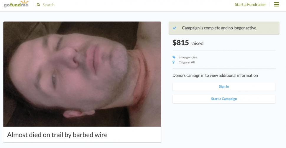 d653554c7a4 Canadian cyclist charged with fraud after crowdfunding fake booby trap  injuries