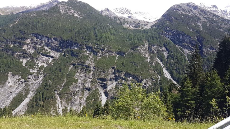 Stelvio - it's along way down and there's still a long way up.jpg