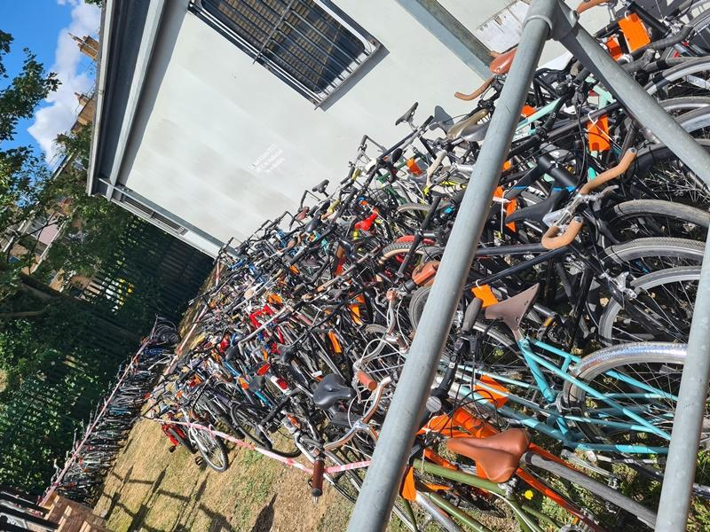 Had your bike nicked? £30k of stolen bikes recovered in Hackney