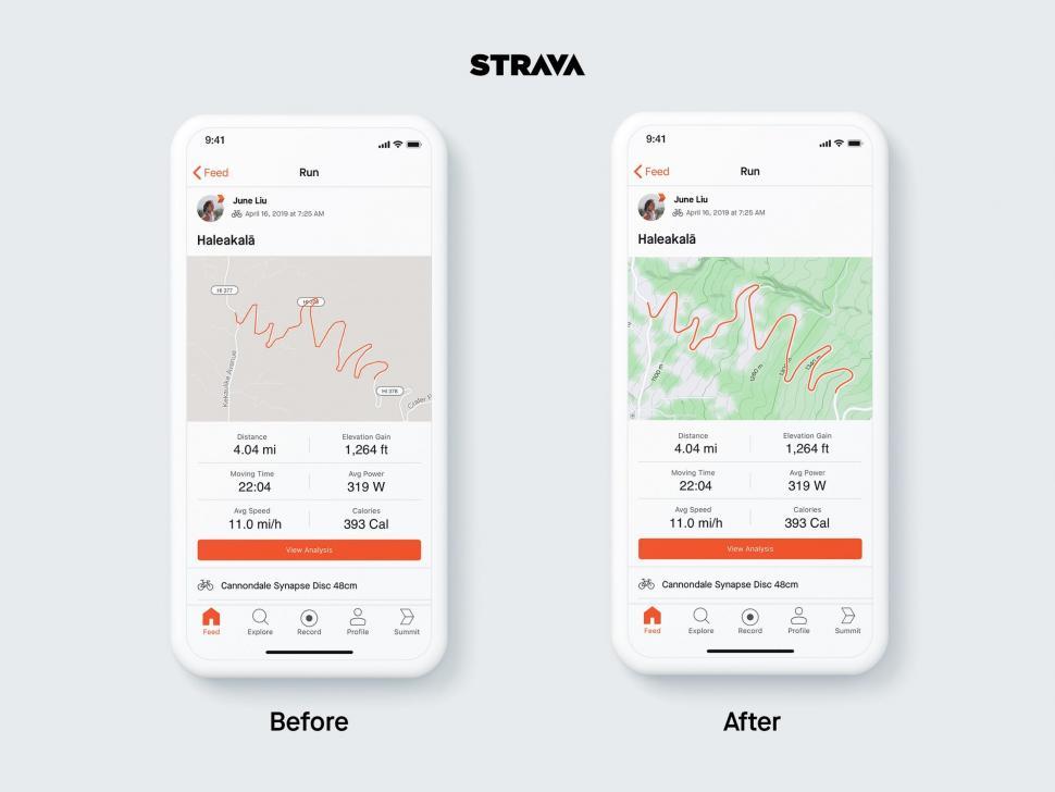 strava mapbox new maps