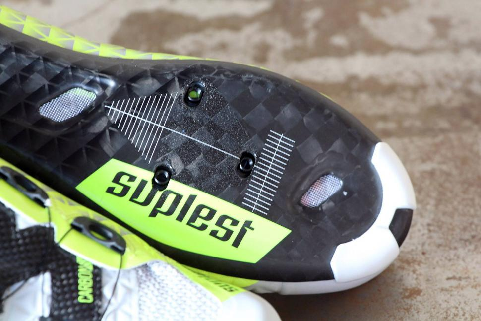Suplest Road Carbon Edge 3 Cycling Shoe - sole toe.jpg