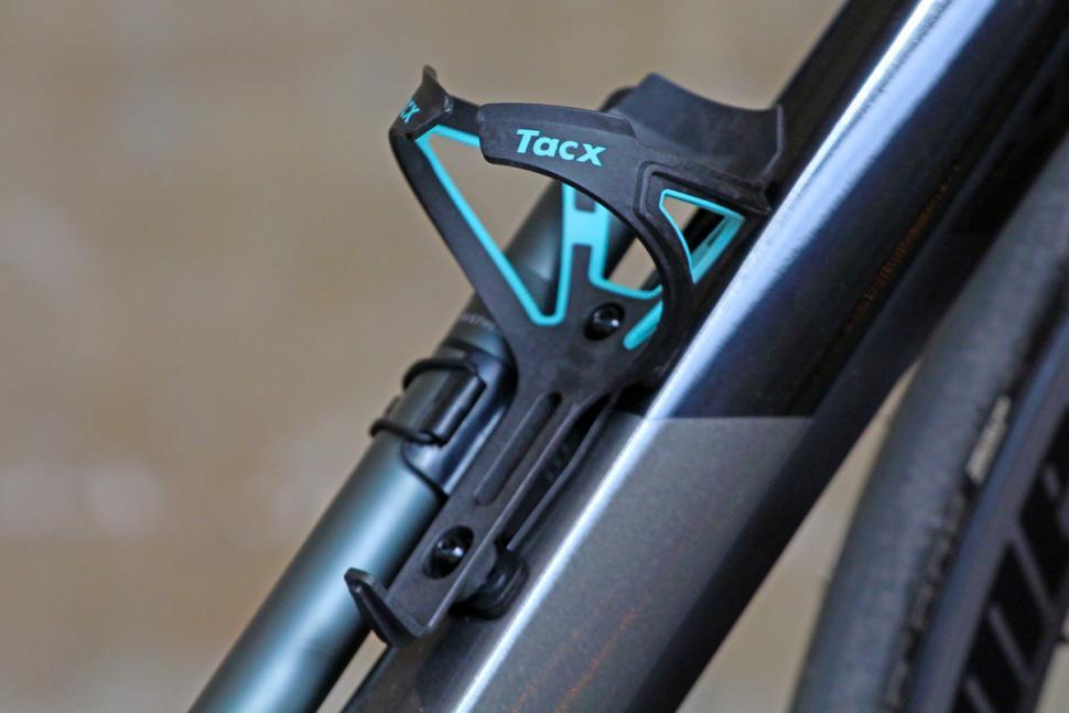 Tacx Ciro Carbon Water Bottle Cage Black//White Bike