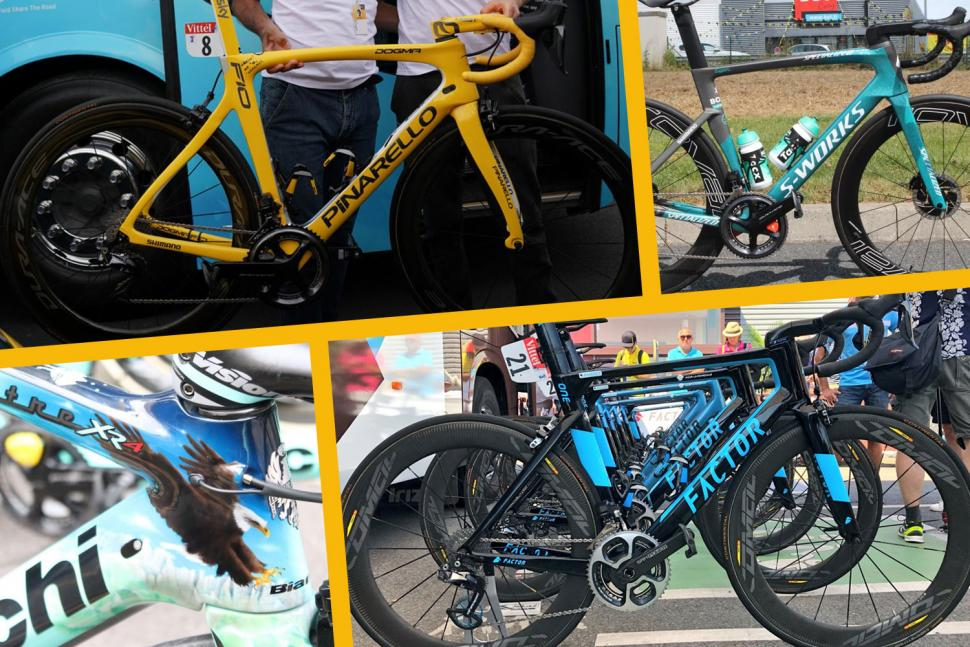 The winning bikes of the 2018 Tour de France - the bikes