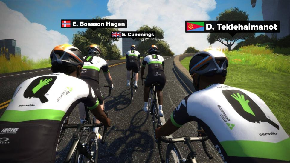 Top under-22 rider on Zwift to earn pro contract on Team Dimension ... 90c6a3802