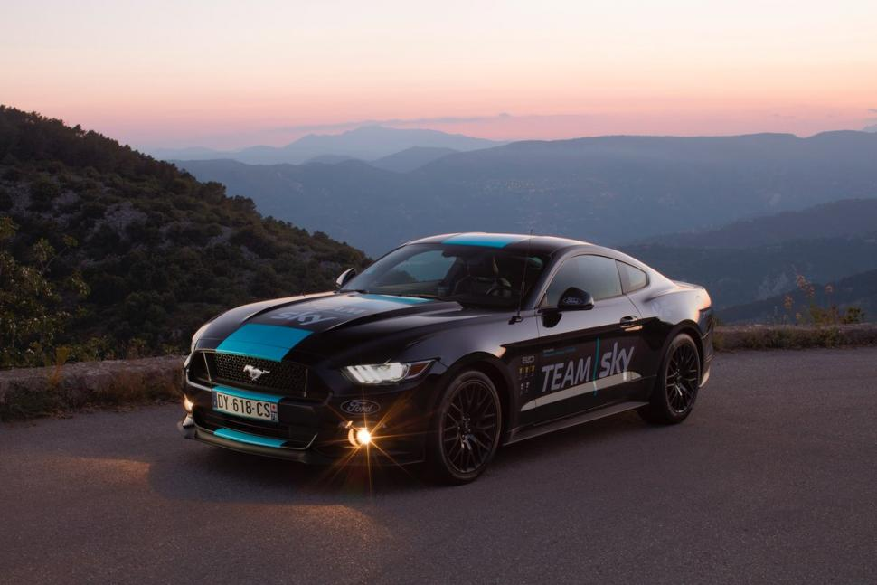 Famous Ford Mustang joins Team Sky fleet for Tour de France | road.cc JS39