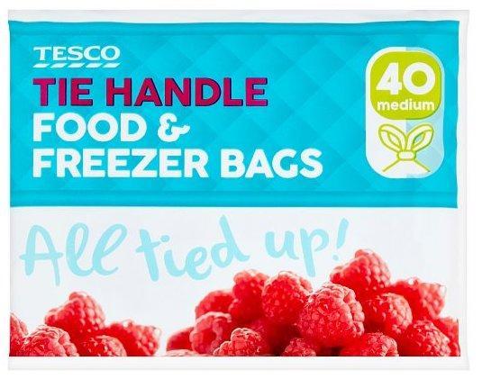 Tesco freezer bags