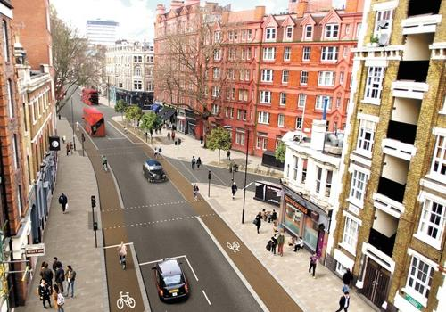 Theobald's road layout impression via the Camden New Journal.jpg