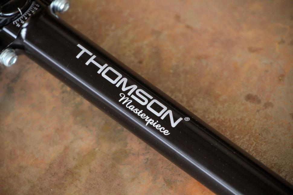 Thomson Masterpiece Setback Bike Bicycle Seatpost 27.2 x 330mm Black