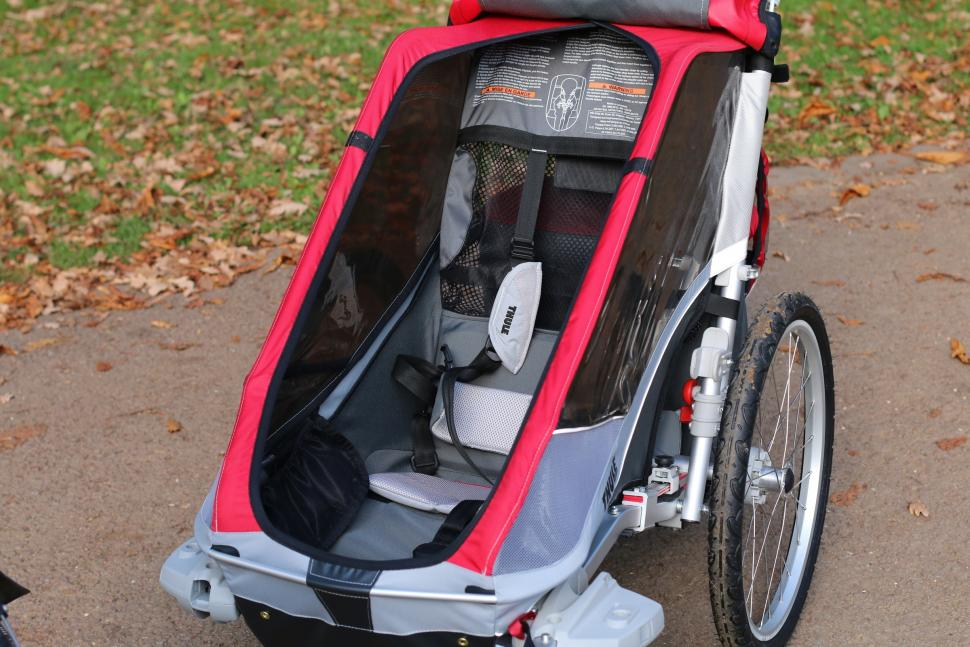 Review Thule Chariot Cougar 1 roadcc