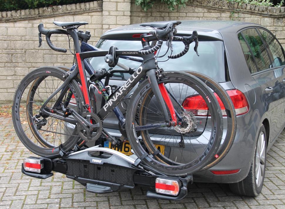 Thule VeloCompact 925 6.JPG & Review: Thule VeloCompact 92501 2-bike car rack   road.cc