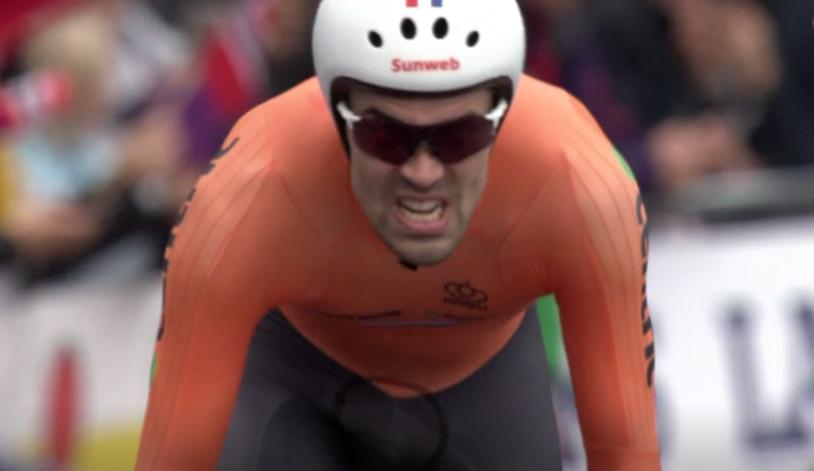 Tom Dumoulin wins UCI Time Trial World Championship 2017.PNG