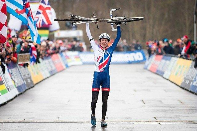 Tom Pidcock wins 2017 Junior World Cyclo-Cross Championship (pictur credit Britishcycling.org_.uk).jpg