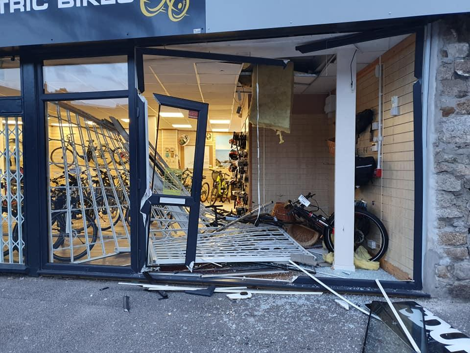 top gear ebike shop raid, via Facebook