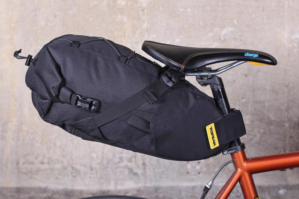 classic on feet shots of for whole family Review: Topeak BackLoader 10L seat pack | road.cc
