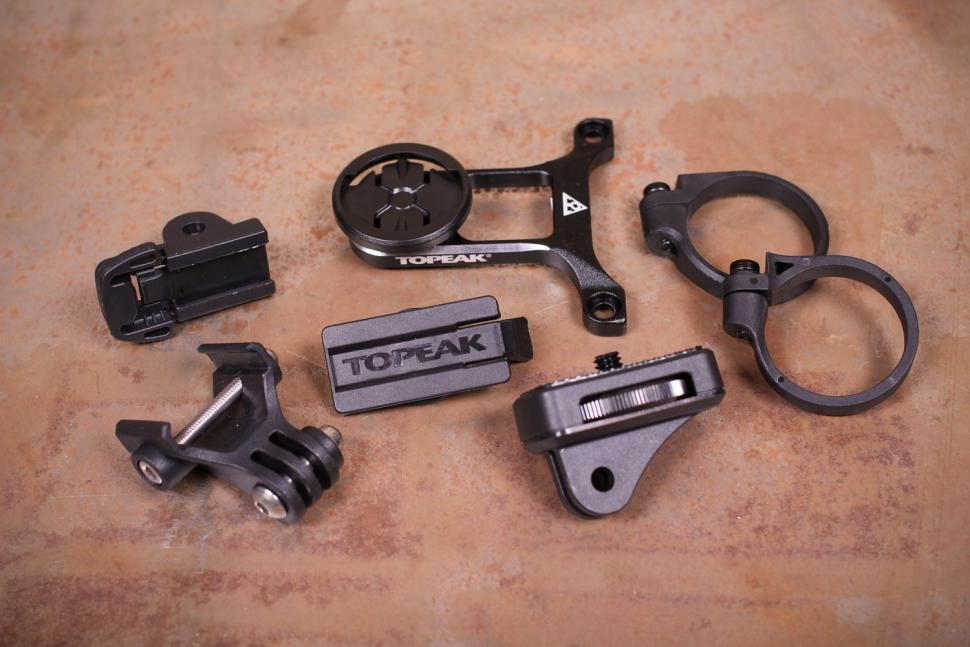Topeak Ridecase Center Mount With Sports Camera and Gear Adapters - all adapters.jpg