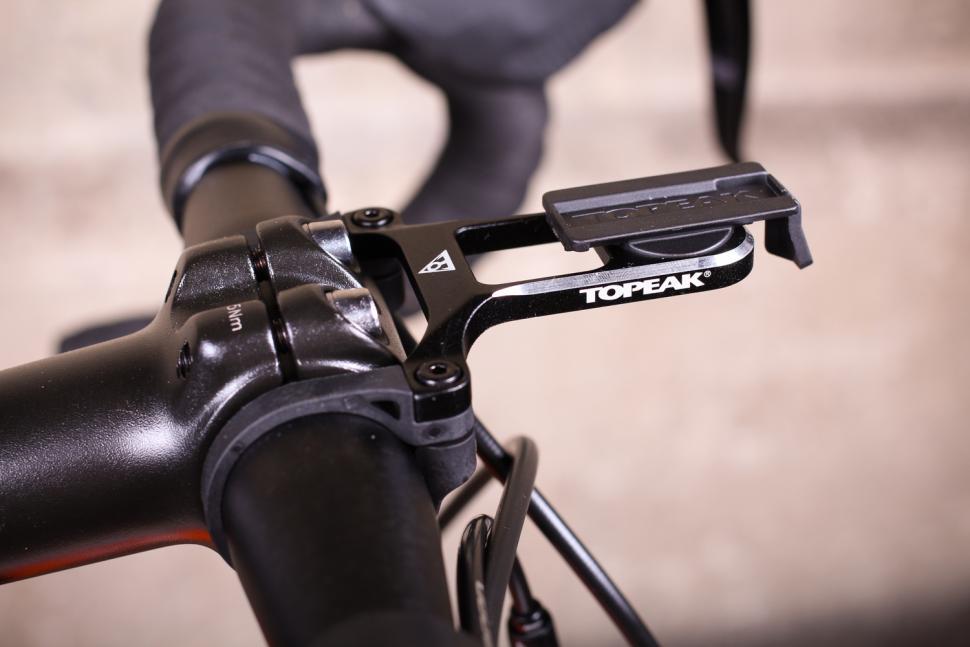 Topeak Ridecase Bicycle Handlebar Multi Mount Set with Sony Garmin Adapters