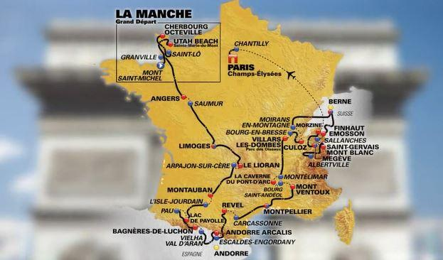 Tour De France Route Unveiled In Paris Videos Roadcc - Limoges france map