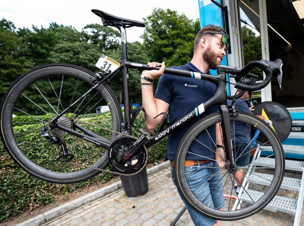 Tour de France 2019 AG2R Eddy Merckx bike
