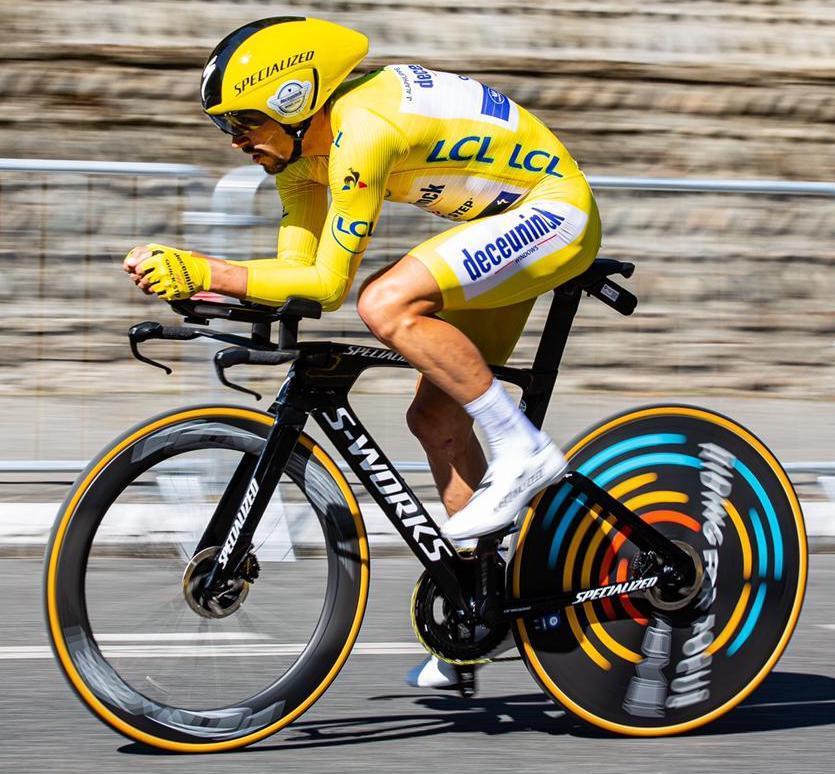 Tour de France 2019 Alaphilippe TT Specialized Shiv copyright CyclingImages