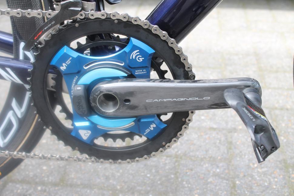 Tour de France 2019 Campag chainset Landa - 1
