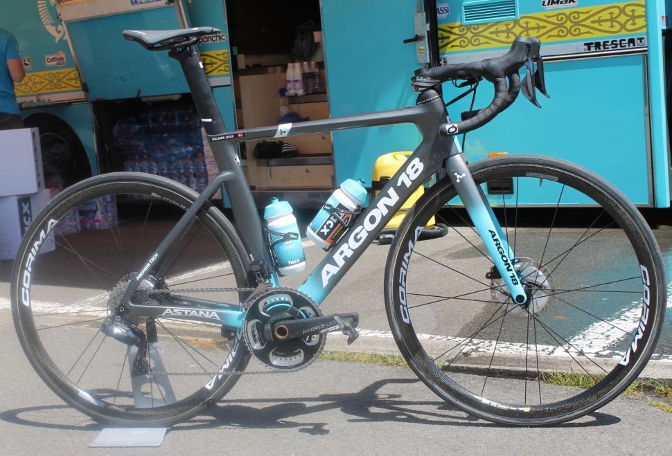 Tour de France 2019 Fuglsang Argon 18 Nitrogen Disc - 1