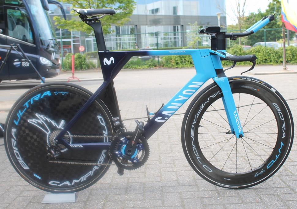 Tour de France pro bikes: Anatomy of a time trial bike | road cc