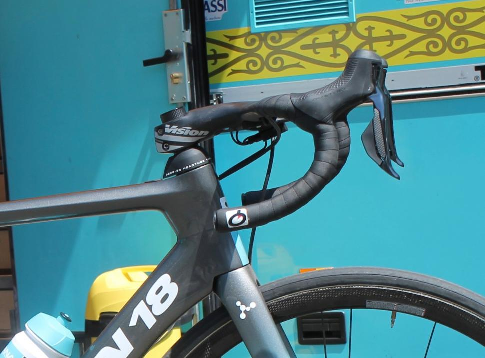 Tour de France 2019 Jakob Fuglsang Argon 18 Nitrogen Disc front end - 1