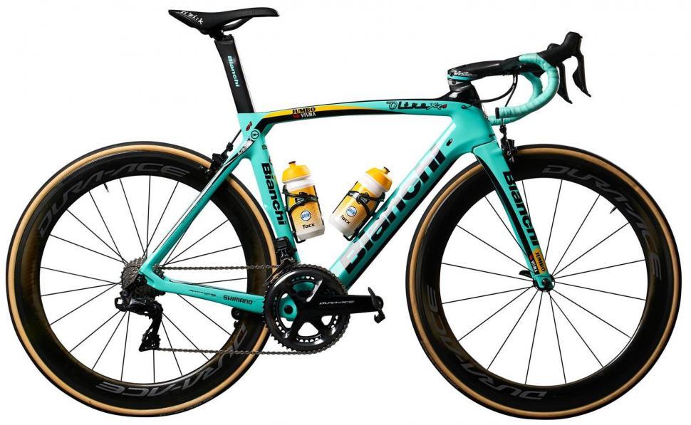 Tour de France 2019 Mike Teunissen Bianchi Oltre XR4 Team Jumbo Visma