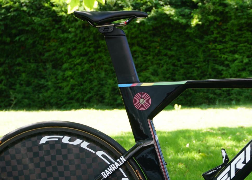 Tour de France 2019 Rohan Dennis TT bike detail - 1