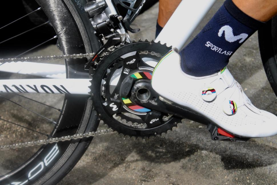 Tour de France 2019 Valverde shoes and power meter - 1.jpg