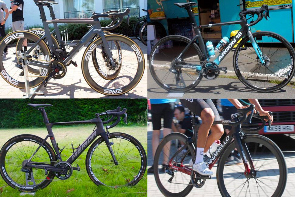 Tour de France pro bikes 2019 - aero road bikes