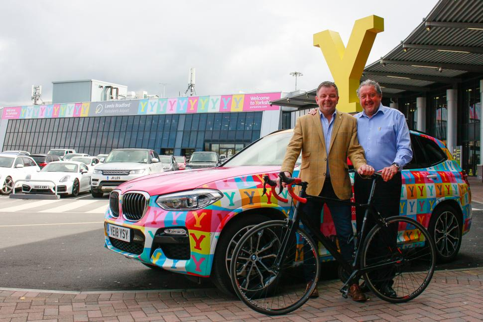 Tour de Yorkshire 2019 airport announcement