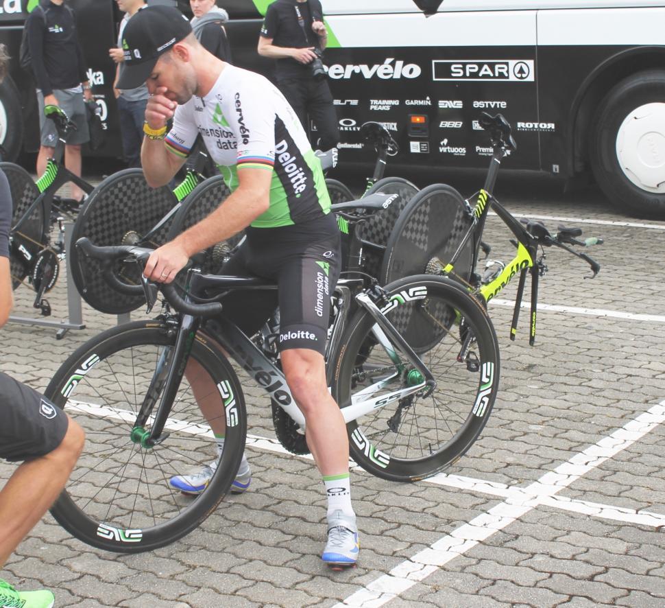 Tour Tech 2018 Mark Cavendish Cervelo S5 - 1