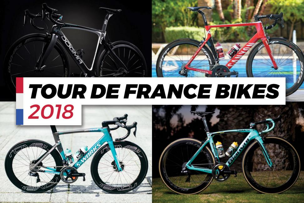 The bikes of the 2018 Tour de France - who's riding what in