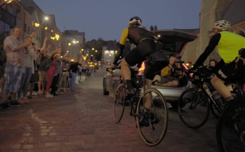 Transcontinental Race 2016 gets under way in Belgium (PEdALED Vimeo still).PNG