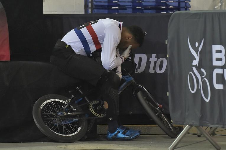 Tre Whyte at 2016 UCI BMX Supercross World Cup in Manchester (copyright British Cycling).jpg