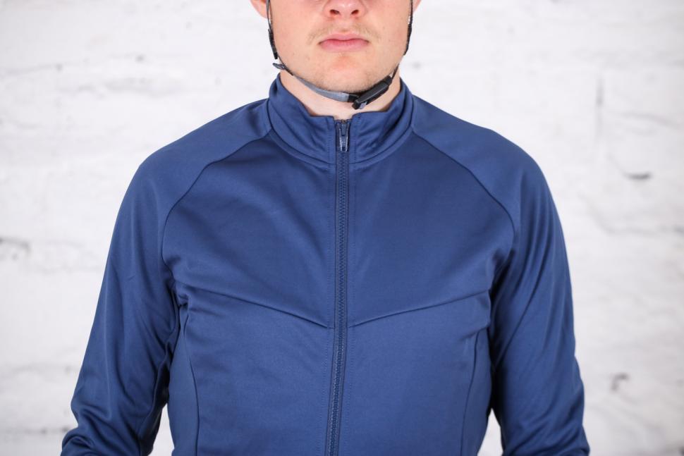 Triban RC 100 long Sleeved Cycling Top - chest.jpg