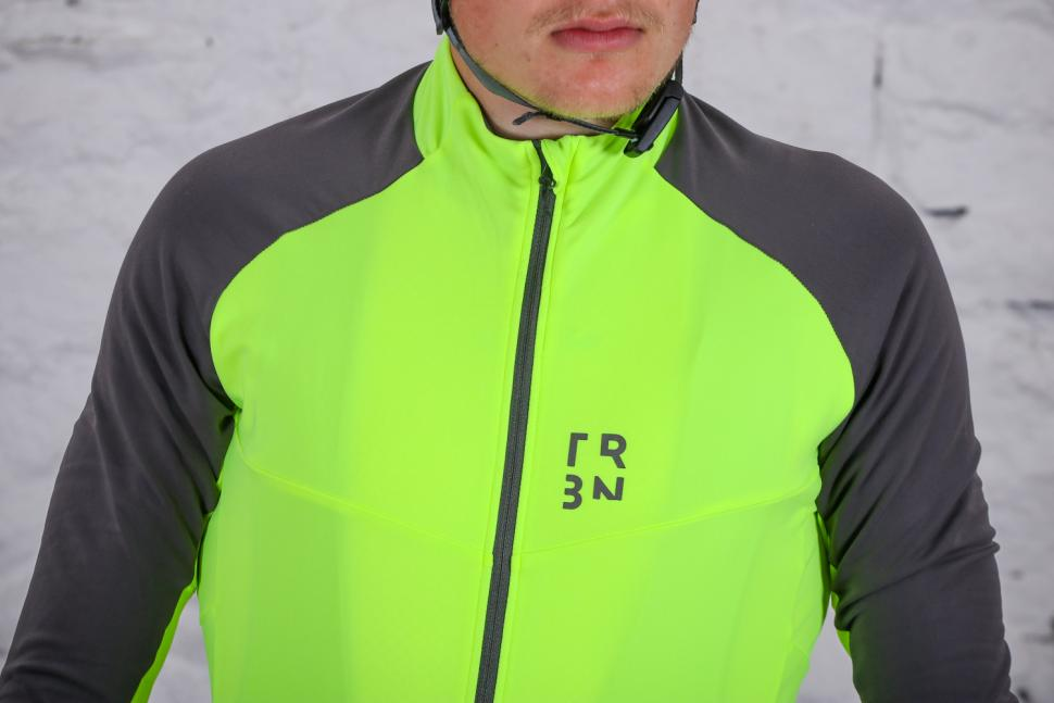 Triban RC 500 Long Sleeve Cycling Jersey - chest.jpg